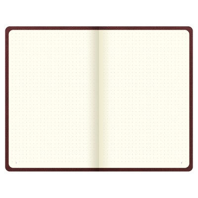Origins Book Dotted Notebook Chocolate