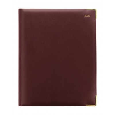 Classic Quarto Vertical Week to View with Appointments Diary 2022