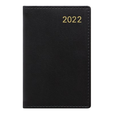 Belgravia Mini Pocket Week to View Leather Diary with Planners 2022