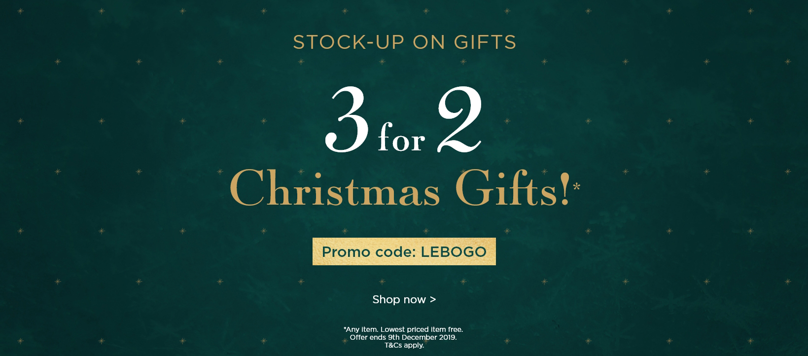 3 For 2 Christmas Gifts!