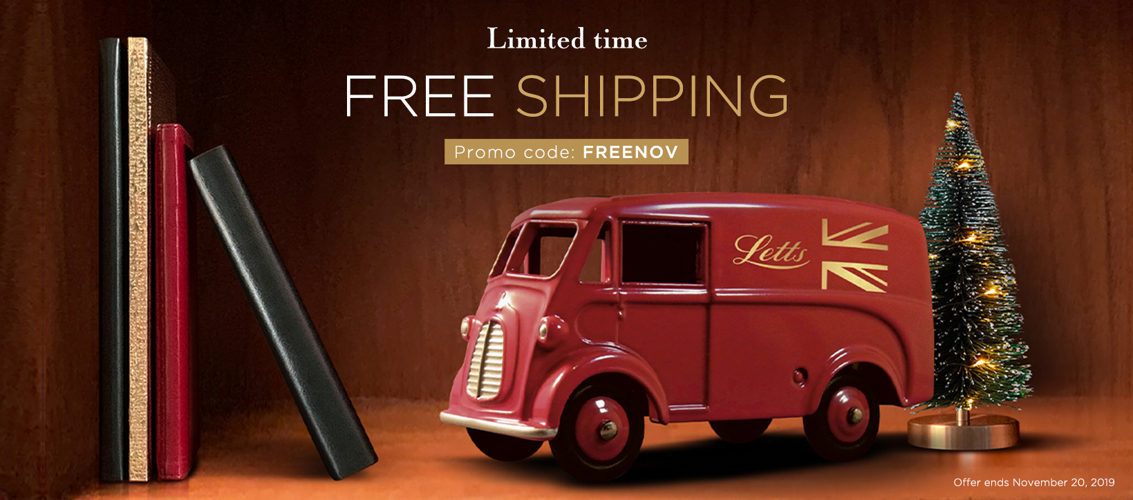 Free Shipping Letts of London