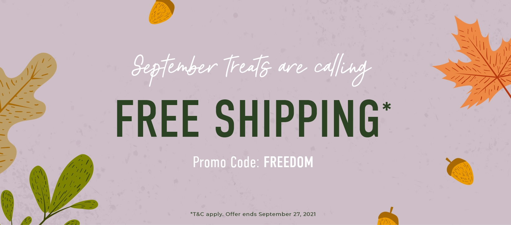 Free Shipping Sale - FREEDOM